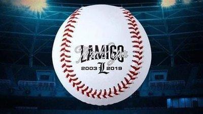 現貨 職棒 Lamigo Monkeys 桃猿 16年 比賽紀念用球  陳俊秀 林承飛 詹智堯 藍寅倫 林泓育 林立