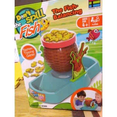 全新)(全新特價80)金魚平衡遊戲 Don't spill the fish 益智遊戲 桌遊