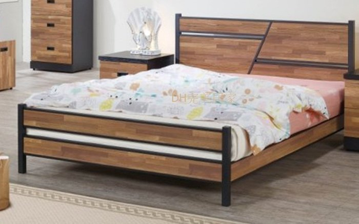 【DH】商品貨號BC01-1商品名稱《森爾威》5尺床架(圖一)備有6尺可選.台灣製可訂做.主要地區免運費
