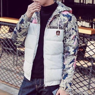 棉衣男士冬季外套2018新款加絨加厚男裝棉襖冬裝衣服襖子羽絨棉服