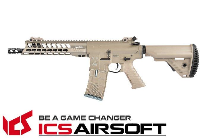 【翔準軍品AOG】ICS CXP-YAK SBR(沙)S1托 EBB Keymod 全金屬 電動 生存遊戲 IMT-41