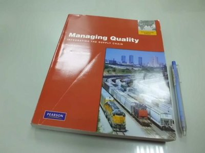 #B1-4cd☆『Managing Quality 4/e』ISBN:0135078199
