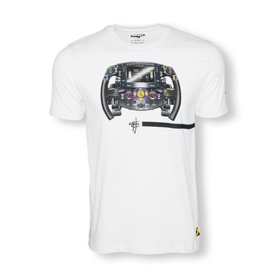 "FERRARI STEERING WHEEL Tee ""LIMITED EDITION"""