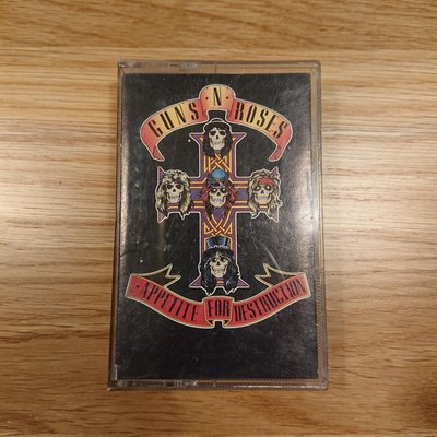 Guns N' Roses - Appetite for Destruction 美版二手卡帶