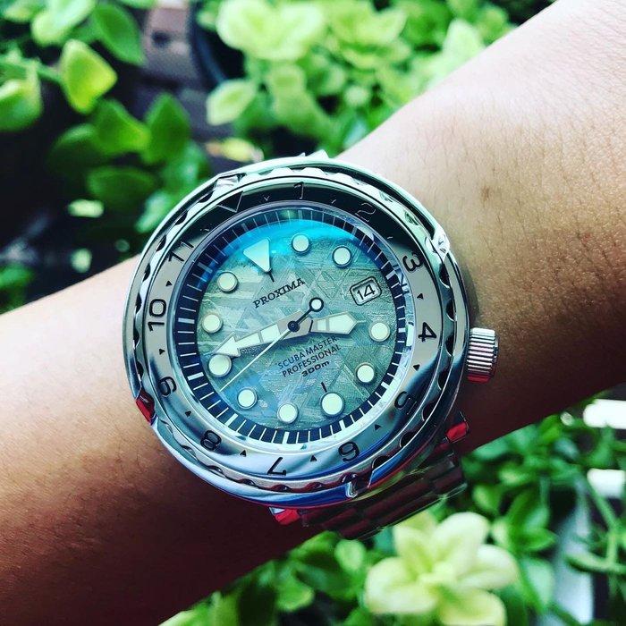 ㊅六樓先生㊅ proxima tuna Meteorite  限量生產隕石面 機械錶 潛水錶