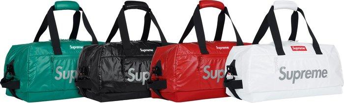 全新商品 Supreme 17FW 43th Duffle Bag 3M 反光 手提包 旅行袋 黑色 白色 紅色 綠色