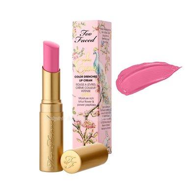 Too Faced~潤澤絲滑唇膏-Razzle Dazzle Rose色號 粉紅玫瑰色 Lip Cream