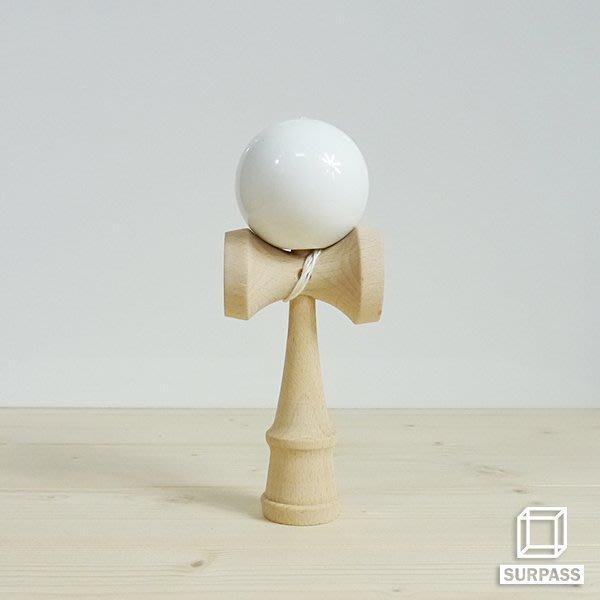 『Surpass』木質劍玉劍球 Classical 經典系列 白色
