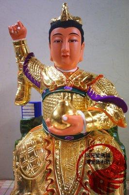 九天玄女 神尊 1尺3 樟木手工雕刻 安正94金箔