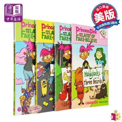 [文閲原版]英文原版 Scholastic Branches:Princess Pink and the Land of