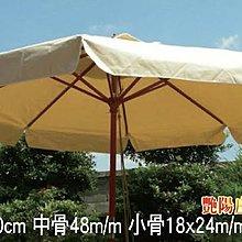 【艷陽庄】印尼木傘(10尺)/大陽傘/釣魚傘/遮陽傘/戶外休閒傘/海灘傘/戶外休閒桌椅