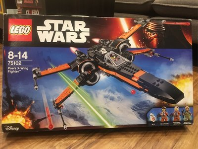 樂高LEGO Star Wars Poe's X-Wing Fighter 75102 Poe's X翼戰鬥機