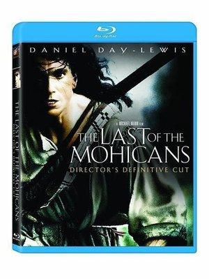 BD 全新美版【大地英豪 導演版】【The Last of the Mohicans】Blu-ray 藍光 丹尼爾戴路易
