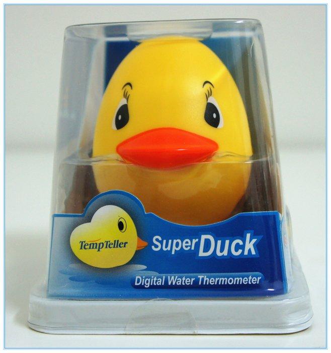 【DEAR BABY】Super Duck 黃色小鴨液晶螢幕電子水溫計 可當洗澡玩具 現貨