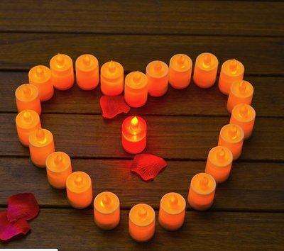 【NF456】LED蠟燭燈 多色可選/LED蠟燭燈/生日婚禮表白求婚蠟燭/排字蠟燭/舞會佈置