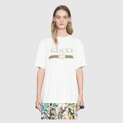 【代購】Gucci 經典 LOGO T 恤 短袖 上衣 男女款