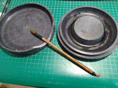 【玩石工坊】大理石硯臺/僅剩一件/收藏已久有污漬/可自取驗貨