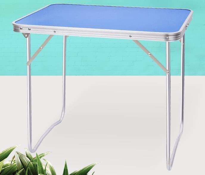 旺歐徠戶外折疊桌折疊餐桌擺攤折疊桌便攜式簡易桌家用折疊小桌子igo