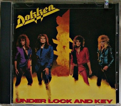 Dokken - Under Lock and Key /George Lynch 二手美版