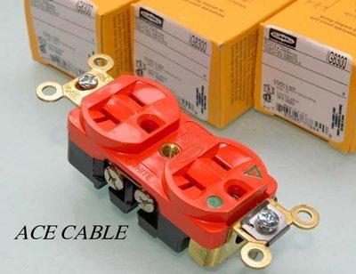 《線王》音響配件 ~ 美國原裝 HUBBELL頂級 IG8300電源(壁)插座 (液態氮冷處理)
