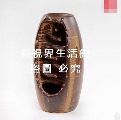 【新視界生活館】倒流香爐 德化陶瓷沈香居家香熏爐香具彩陶飾品塔香爐 香爐