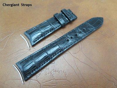 勞力士天行者圓弧形錶耳鱷魚錶帶 Rolex Sky-Dweller curved lug end croco strap