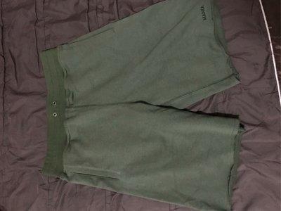 MANIA 17S/S Sweat Shorts 棉褲 軍綠L號