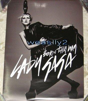 女神卡卡 Lady Gaga 天生我材Born This Way ~ 宣傳海報~ !免競標~