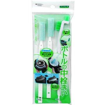【大欣食品】Mameita 瓶栓間隙清洗刷具組 保溫瓶蓋 清潔組3入組