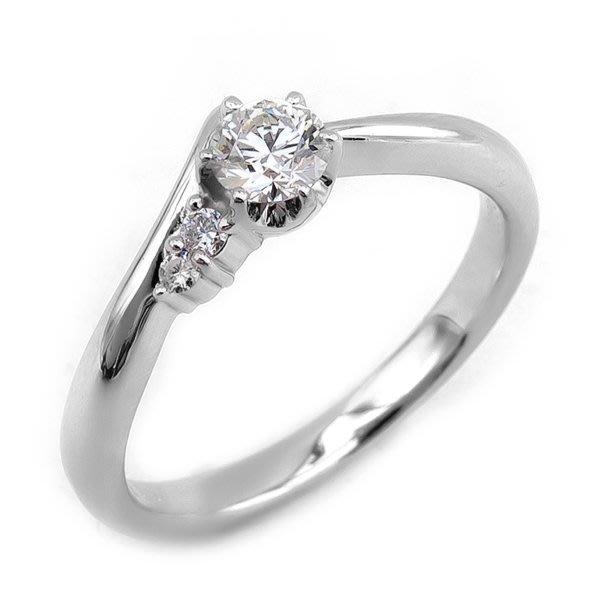 【JHT 金宏總珠寶/GIA鑽石專賣】0.274ct天然鑽石戒指/材質:PT900(JB23-B11)
