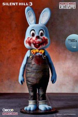 ArtLife @ GECCO Silent Hill 3 限定 Rabbit 沉默之丘 藍色 血腥殺人兔 撲殺兔