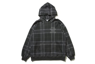 "[ LAB Taipei ] BlackEyePatch ""CHECKED HOODIE"""