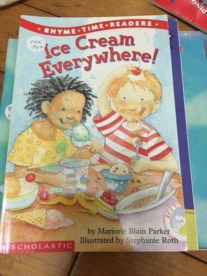 全新英文童書 冰淇淋 Ice Cream Everywhere! by Marjorie Blain N1752