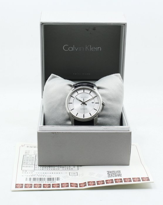 【高雄青蘋果3C】Calvin Klein Infinity Automatic K5S341C 紳士機械錶#08356