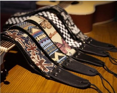 民謠木吉他背帶 個性加寬吉他肩帶電吉他背帶貝斯背帶