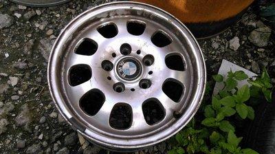 BMW 原廠 5孔120 15吋鋁圈 適用3系列 318 320