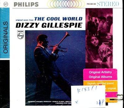 *真音樂* DIZZY GILLESPLE / THE COOL WORLD 全新 K14591 (左殼切痕)