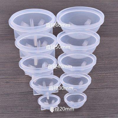 【乖乖媽手作】圓球體(星空球體)矽膠模具直徑6cm-滴膠UV膠專區商品