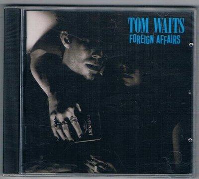 [鑫隆音樂]西洋CD-TOM WAIT湯姆.威茲/FOREIGN AFFAIRS外國事務 /全新/免競標