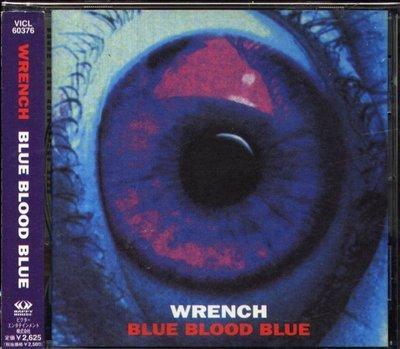 八八 - WRENCH - Blue Blood Blue  - 日版 CD