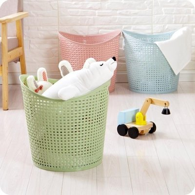 YEAHSHOP 大號塑料臟衣籃浴室洗衣籃客廳玩具衣物收納Y185