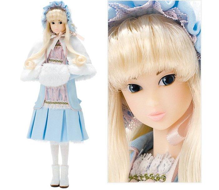 momoko桃子娃娃--日本原裝momokodoll絕版品限量版雪の森愛麗絲--秘密花園