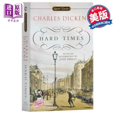 晚宁-經典名著 Hard Times Signet Classics 狄更斯 艱難時世 英文原版