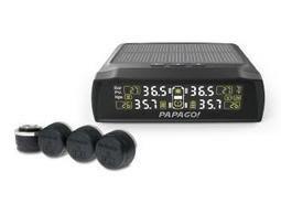 【行車達人】PAPAGO ! TireSafe S72E 無線太陽能 輕巧 胎壓偵測器 胎外式 保固二年 另售 S60E