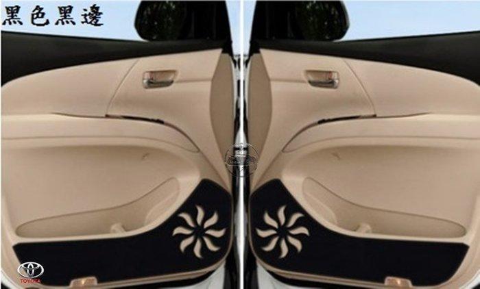 豐田 Previa 2.4 / 3.5 專用車門防踢墊 超纖皮革 高質感 直貼上 A16