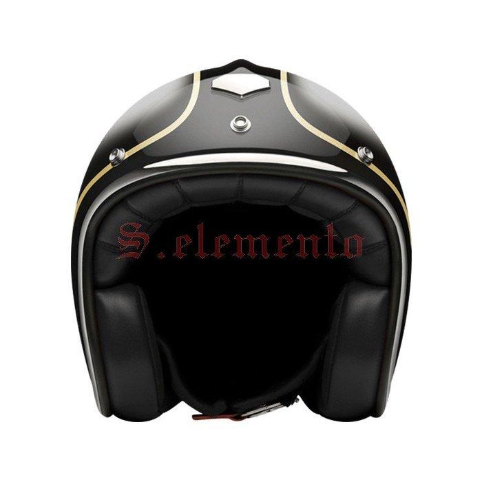 【預購優惠】Ateliers Ruby 安全帽 Pavillon ECE Lerchenauer 碳纖維 3/4 復古帽