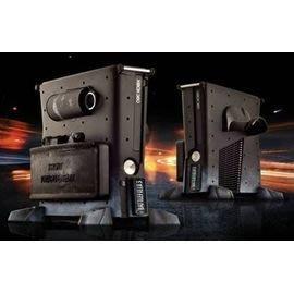 [哈GAME族]XBOX360 Slim主機專用外殼 戰地風雲3 外裝旗艦 XBOX360主機外殼