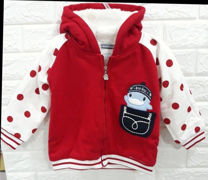 外套KU.KU秋冬外套小紅點點特價買到賺到