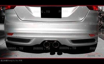 2013 2014 2015 福特 FORD FOCUS MK3 ST 後中包 後下巴 套件