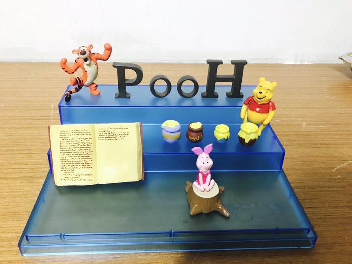 (現貨)迪士尼 疊疊樂 公仔 跳跳虎 小豬 小熊維尼 公仔 pooh 蜂蜜 盒裝 疊疊樂 模型 盒玩 景品